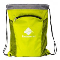 Buy cheap New Hot Selling  Cheap Polyester Drawstring Bag with Zipper-HAD14023 from wholesalers