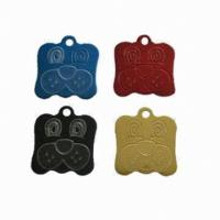 Buy cheap Blank Necklace Dog Identification Tags 304 Stainless Steel Laser Engraved With Military product