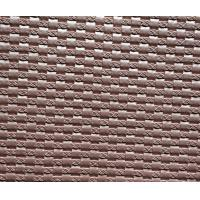 Buy cheap Customized pink Faux Leather Fabric For Handbags / Wallets 1350 - 1500mm Width from wholesalers