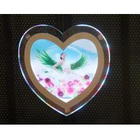 Buy cheap Irregular Shape Crystal LED Photography Light Box Frameless Brightness from wholesalers
