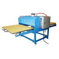 Buy cheap Pneumatic Garment Rosin T Shirt Heat Transfer Machine Wide Format Double Working Table from wholesalers