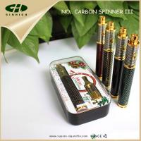 Top quality Vision Spinner3 1600mah E Cig Battery Carbon Fiber Vision Spinner PCB Control for sale