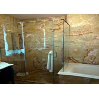 Red Dragon Onyx Natural Stone Bathroom Tiles , 12x12 Stone Tile Skid Resistant