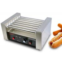 Buy cheap hot dog roller grill electric snack bar equipment 7 rollers