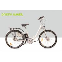 Buy cheap Lady City Electric Bicycles Cruising Bike 700C Electric Front Wheel Gear Motor roller brake from wholesalers
