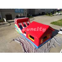 Buy cheap 2 Years Warranty Inflatable Jumping Castle / Bouncy Castle 0.55 Mm Pvc Tarpaulin from wholesalers