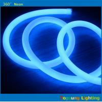 Buy cheap 82' spool 12V DC blue 360 led neon for commercial from wholesalers