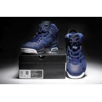 Buy cheap Michael Jordan 6 Basketball Shoes Men's footwear dark purple color 032 from wholesalers