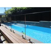 Buy cheap Free Design Frameless Glass Pool Fencing , Clear Swimming Pool Glass Fence from wholesalers