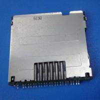 Buy cheap micro pcb SD push sim card connector 8pin smt,mini sd card socket,smc card from wholesalers