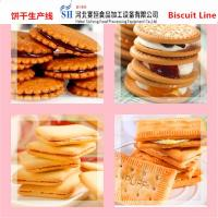 Buy cheap SAIHENG industrial biscuit production line price full automatic from wholesalers