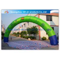 Buy cheap Promotion Semicircle Inflatable Start Finish Arch 9m Span Customized Size product