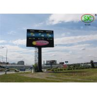 Buy cheap Light Weight SMD Outdoor LED Billboard , 31.25mm Full Color LED Display For Studio from wholesalers