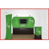 Buy cheap Waveline Portable Tension Fabric Backwall , Straight Shape Fabric Backdrop Display from wholesalers
