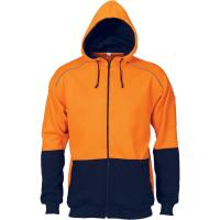 Buy cheap Hi Vis Reflective Zip Hoodie from wholesalers