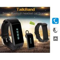 Buy cheap Talk Band  Smart Bluetooth headset call Bracelet from wholesalers