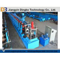 Buy cheap Photovoltaic Supporter Slotted Roll Forming Machine Pass CE / ISO from wholesalers