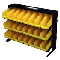 Buy cheap 24-Piece Storage Bin Racks With Yellow Removable Bins (HT-B009) from wholesalers