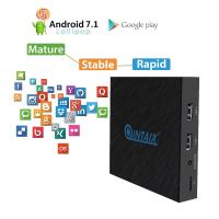 Buy cheap QINTAIX Amlogic T962E 2GB+16GB Quad-core 2.4G WiFi BT4.1 TV BOX 4K HDR android 71 tv box from wholesalers