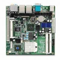 Buy cheap Industrial Mini-ITX Motherboard with AMD Turion 64, Mobile Sempron and AMD M690E/SB600 Chipset from wholesalers