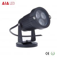 Buy cheap IP40 round black 45 degree lens outdoor 3W LED garden lights for hotel from wholesalers