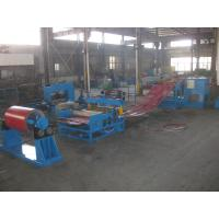 Buy cheap PLC Control Cold Roller Sheet Coil Steel Slitting Machine Line Large Thickness 1.5mm from wholesalers