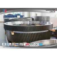 Buy cheap Hydraulic Press Open Die Forgings 4000T Cement Machinery Gear Parts from wholesalers