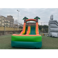 Buy cheap PVC Jungle Party 1000D Durable Inflatable Pool Slide from wholesalers