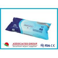 Buy cheap Disposable Organic Adult Wet Wipes 48pcs Premoistened Washcloths from wholesalers