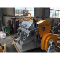 Buy cheap Paperboard / Cardboard Manual Platen Die Cutting Machine New Condition from wholesalers