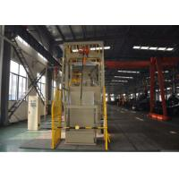 Buy cheap Dust Free Crawler Steel Shot Blasting Equipment Rubber Belt with Loading System from wholesalers