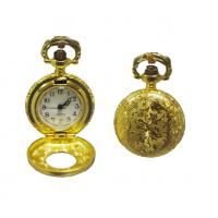 China Gold Plating Metal Gentleman Pocket Watch With Japan PC Movt on sale