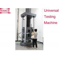 Buy cheap Static Hydraulic Universal Testing Machine , Tensile Strength Apparatus For Lab from wholesalers