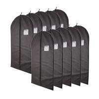Buy cheap Classic Black Garment Bag With Dust And Moisture Protection Function from wholesalers