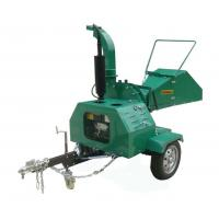 Buy cheap Self Feeding Trailer Mounted Chipper , Diesel Engine 8 Wood Chipper from wholesalers