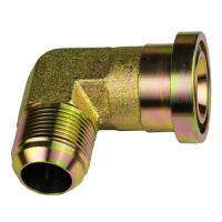 Buy cheap 90 Degree 37 Degree Jic Fittings  / Brass Tube Turn Pipe Fittings from wholesalers