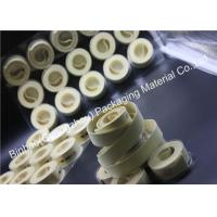 Buy cheap White Linen Garniture Cigarette / Tobacco Machine Tape Good Abradability from wholesalers