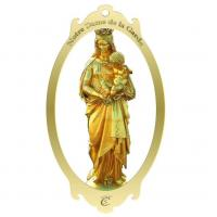 Buy cheap Madonna metal bookmark, brass bookmark,bookmark with logo from wholesalers