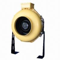 Buy cheap Plastic Centrifugal Inline Duct Fan, 100 to 315mm Diameter, 120 or 230V AC from wholesalers