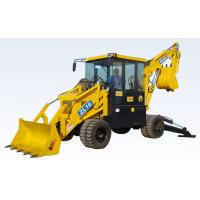 Bulldozer backhoe loader multi-function use with fully implements
