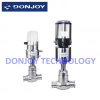 Buy cheap 1/2 - 4 Pneumatic Globe Regulating Valve With Valve Positioner CE / FDA / ISO from wholesalers
