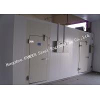 Buy cheap PU Foam Sandwich Panel Modular Cold Room Panel For Meat And Fish Walk In Chiller from wholesalers