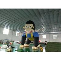 Buy cheap Giant 6m high Event  inflatable Monkey / animal cartoon for advertising from Wholesalers