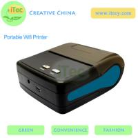 Buy cheap 58mm Portable Wifi Thermal Receipt Mini Wireless Printer with usb android portable printer from wholesalers