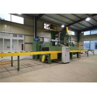 Buy cheap Small Shot Roller Conveyor Blast Machine For Cleaning Aluminum Parts / Channel Bars from wholesalers