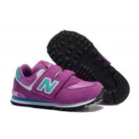 Buy cheap New Balance 574 Kids Shoes For 6 Years Old Boy And Girls Running Sport Shoes Red Black NB 996 Children Sneaker from wholesalers