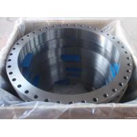 Buy cheap ASTM A105 Carbon Steel Forged Flange CE BV SGS , UNI JIS BS Flange For Pipe Fittings from wholesalers