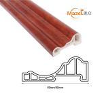 Buy cheap wood grain pvc laminate flooring skirting from wholesalers