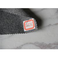 Buy cheap Light Grey Flannel Wool Fabric For Sleeping Garments / Work Gloves / Blazers from wholesalers