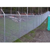 Buy cheap Green Black PVC Coated Galvanised Chain Link Fabric for Security Fence Boundary Railway Airport Prison Sport Tennis Cour from wholesalers